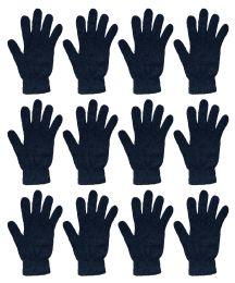 12 Bulk Yacht & Smith Unisex Black Magic Gloves