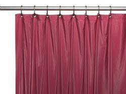 36 Bulk Peva Shower Curtain Burgundy