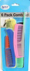48 Bulk 6 Pack Comb Set