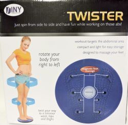 20 Bulk Twister Twist Your Way To A Trimmer Waist Exercise