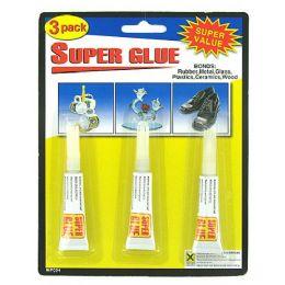 72 Bulk 3 Pack Super Glue