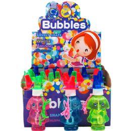 192 Bulk Bubble Bottle With Whistle