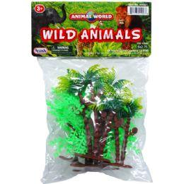 144 Bulk 6 Piece Assorted Wild Animals
