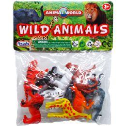 108 Bulk 10 Piece Plastic Wild Animals