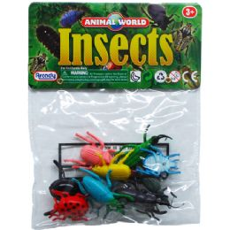 144 Bulk 10 Piece Plastic Insects