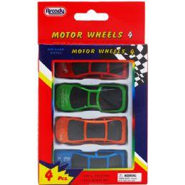 96 Bulk Four Piece Motor Wheels