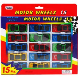 96 Bulk Fifteen Piece Motor Wheels
