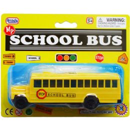 72 Bulk Six Inch School Bus