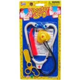 48 Bulk 3 Piece Mini Toy Doctor
