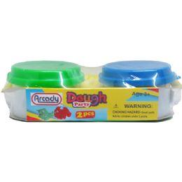 72 Bulk 2 Piece Play Dough Set