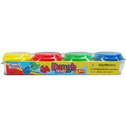 72 Bulk Four Piece Play Dough Set