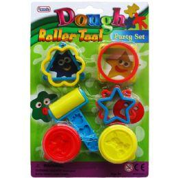 72 Bulk 8 Piece Dough Play Tool Set