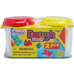 144 Bulk Two Piece Dough Play Set