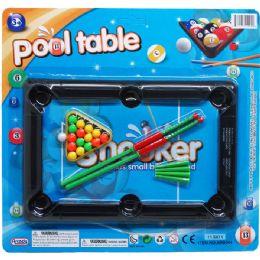 48 Bulk Pool Table Play Set