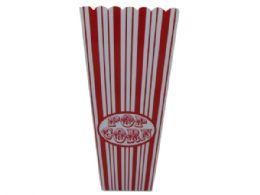 60 Bulk 35 Oz. Red Striped Popcorn Bucket