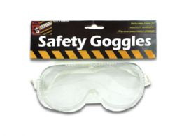 72 Bulk Safety Goggles
