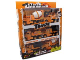 6 Bulk Friction Powered Construction Trucks