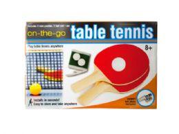 12 Bulk Portable Table Tennis Set