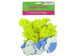 72 Bulk Sky Foam Craft Shapes