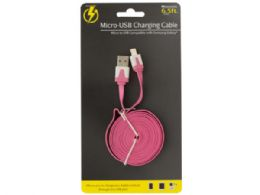 36 Bulk 6.5' Samsung Galaxy Usb Charge & Sync Cable