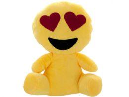 12 Bulk Emoticon Character Plush Doll