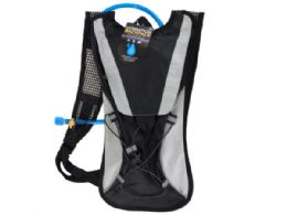 6 Bulk 2 Liter Hydration Backpack With Flexible Drinking Tube