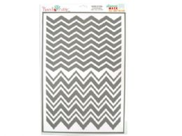 108 Bulk Chevron Patterns Stencil Masks