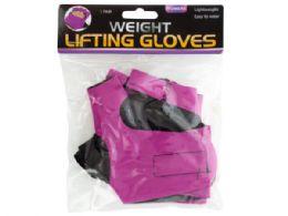 30 Bulk Women's Weight Lifting Gloves