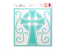 72 Bulk Celtic Cross Stencil Mask
