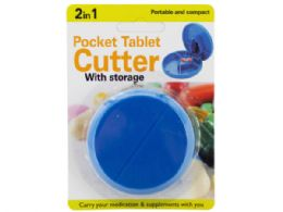 54 Bulk 2 In 1 Pocket Tablet Cutter With Storage