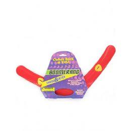 72 Bulk Red Plastic Boomerang