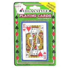 72 Bulk Plastic Coated Playing Cards