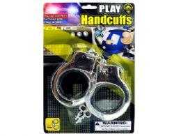 72 Bulk Police Play Plastic Handcuffs