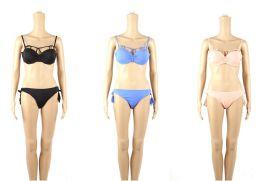 24 Bulk Womans Assorted Color 2 Piece Bathing Suit