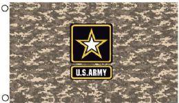 24 Bulk Licensed Us Army Digital Camo Flags