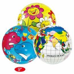 60 Bulk Nine Inch Beach Ball