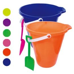 48 Bulk Nine Inch Round Pail With Shovel