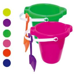 48 Bulk Seven Inch Round Pail With Shovel