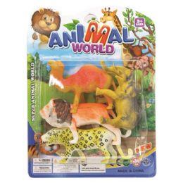 96 Bulk Jungle Animal Set