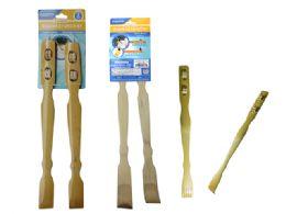 96 Bulk 2pc Bamboo Backscratcher & Massager