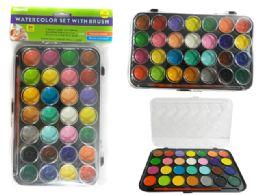 96 Bulk 28 Color Water Color Set