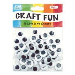 144 Bulk Wiggle Craft Eye
