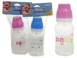 72 Bulk Baby Bottles In Assorted ColorS- 11 oz