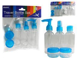 96 Bulk 5pc Travel Bottle Set