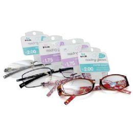 100 Bulk Foster Grant Reading Glasses Medium Power Assorted Styles