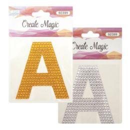 144 Bulk Crystal Sticker A