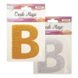144 Bulk Crystal Sticker B