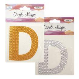 144 Bulk Crystal Sticker D