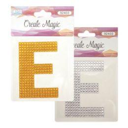 144 Bulk Crystal Sticker E