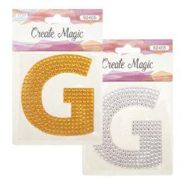 144 Bulk Crystal Sticker G